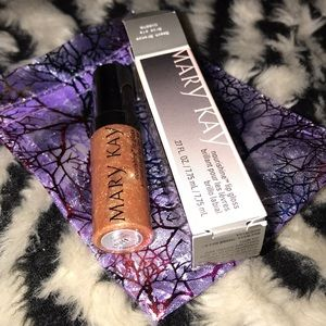 Mary Kay Nourishine lip gloss Beach Bronze New